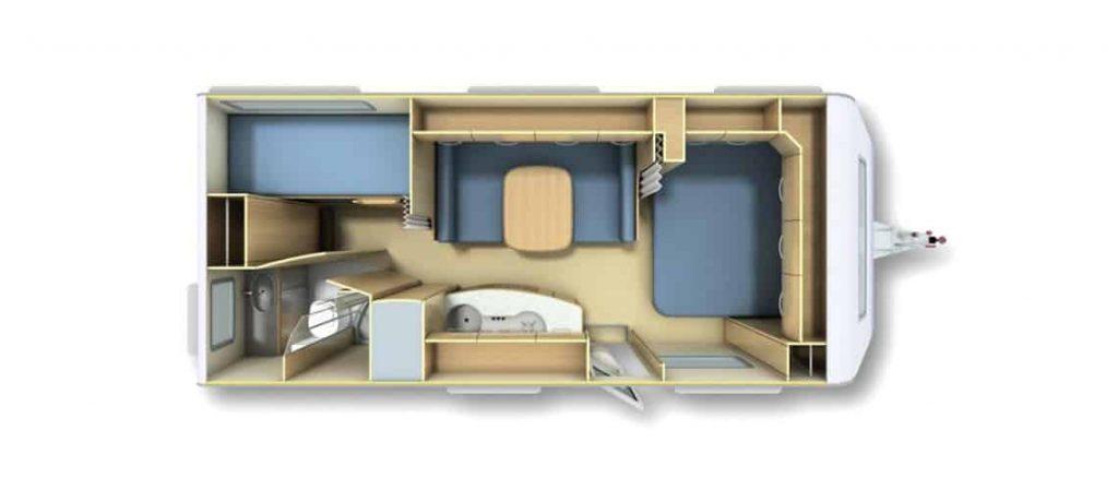 תכנון קרוואן למגורים
