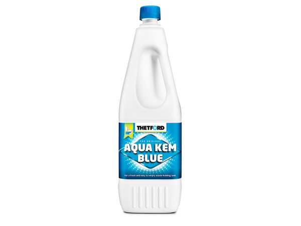 נוזל כימי כחול