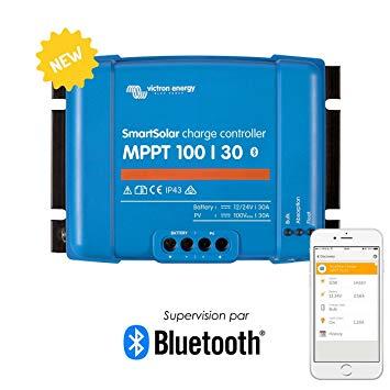 בקר MPPT 30A Victron Energy