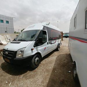 אוטוקרוואן דגם: פורד טרנזיט [Ford Transit]