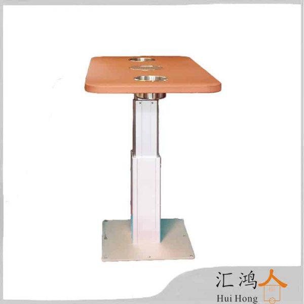 בסיס שולחן מתקפל לסלון מתכוונן